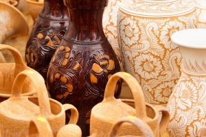 Horezu traditional ceramic Romania old handicrafts